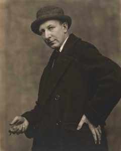 George Bellows (1882-1925) photograph c.1920 by Nickolas Muray