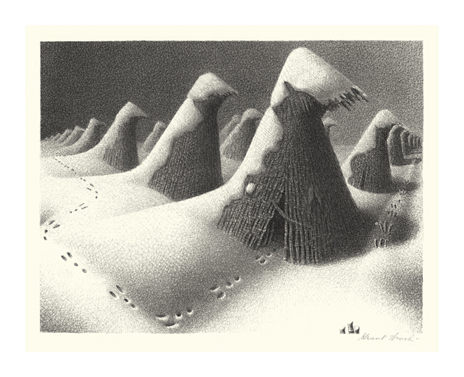 Grant Wood Lithographs for Sale
