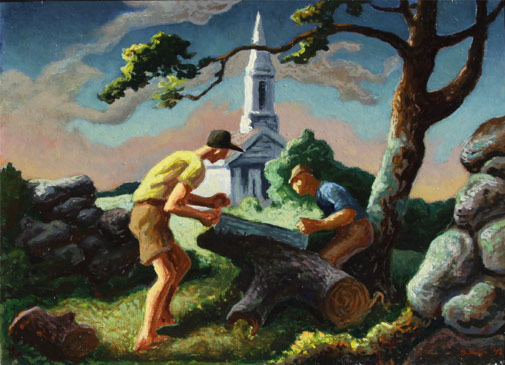 thomas hart benton artwork for sale | surovek gallery