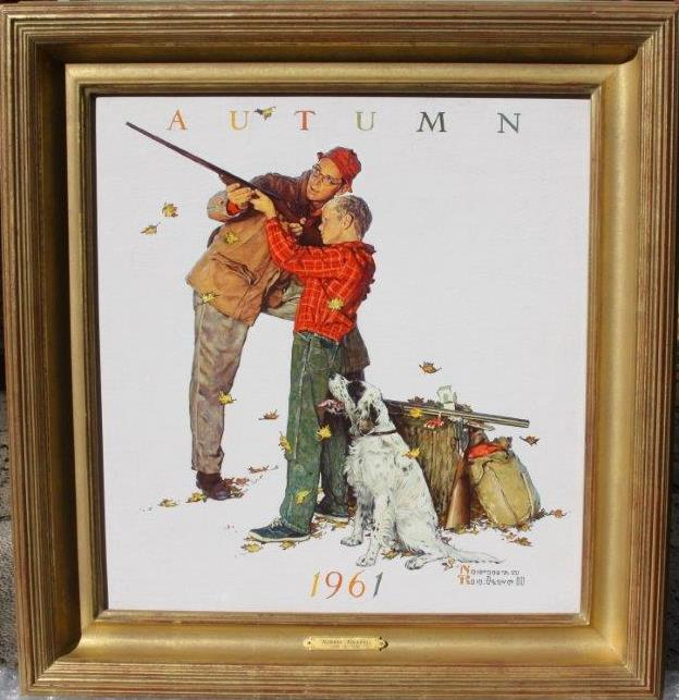 Norman Rockwell Artwork for Sale