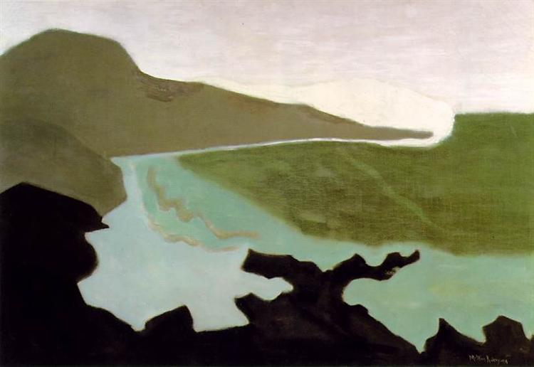 Milton Avery Green Sea,  1954