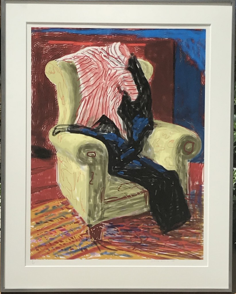 David Hockney - my shirt and trousers