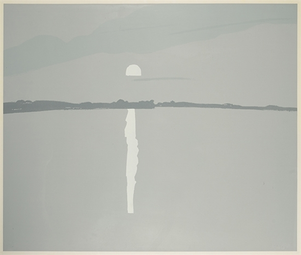 Alex Katz, Sunset Lake Wesserumett