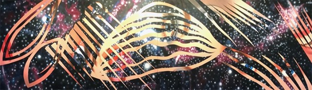 Rosenquist Electrons Dance In Space