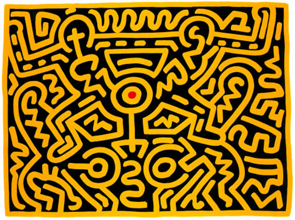 Keith Haring, Growing