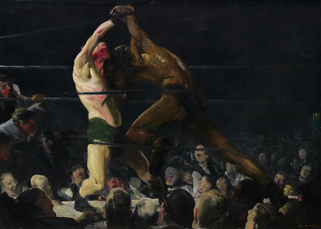 George Bellows, Both Members of This Club, American, 1882 - 1925, 1909, oil on canvas, Chester Dale Collection