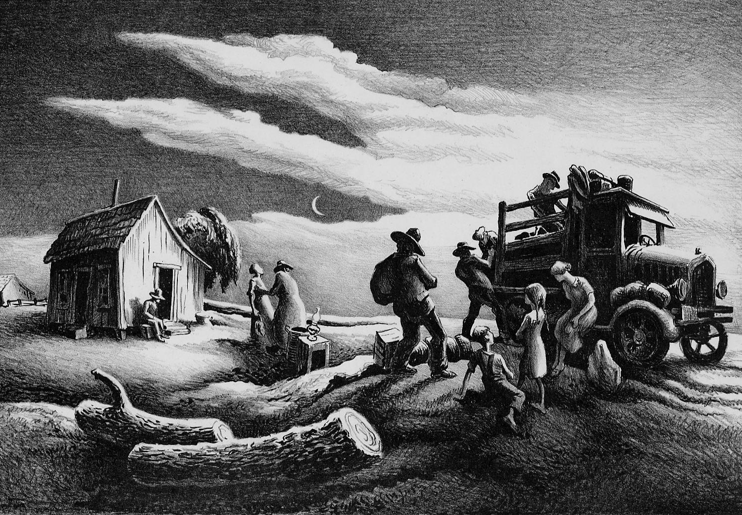 The Power and Passion of Thomas Hart Benton Prints ...
