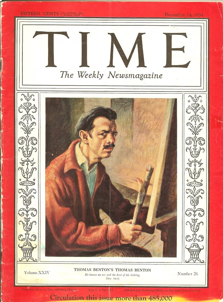 Thomas Hart Benton Time Magazine Cover