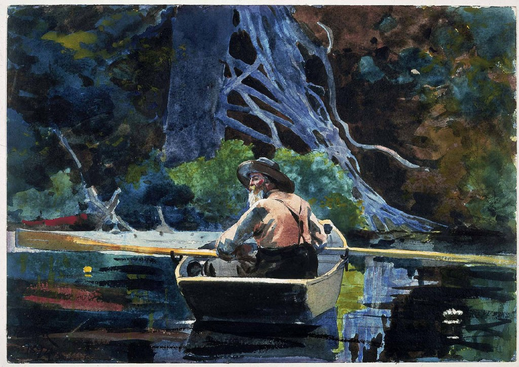 Winslow Homer The Adirondack Guide 1894