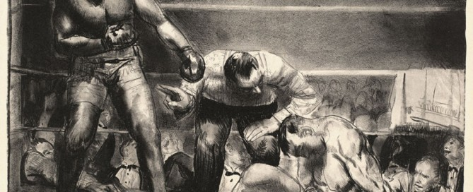 George Bellows Great White Hope 1921