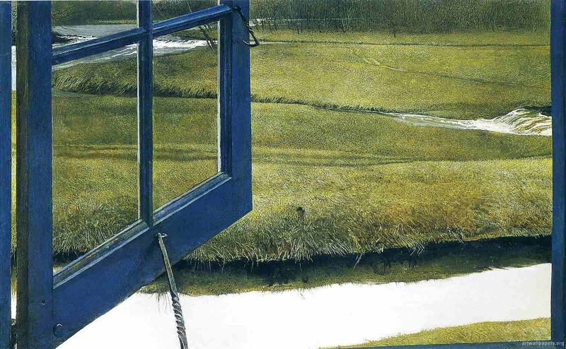 Andrew Wyeth Love in the Afternoon.1992