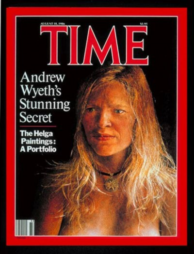 Andrew Wyeth on TIME magazin