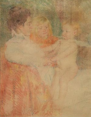 Mary Cassatt Mother, Sara and the Baby