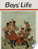 Norman Rockwell A Good Sign All Over the World. Boys' Life magazine cover. 1963