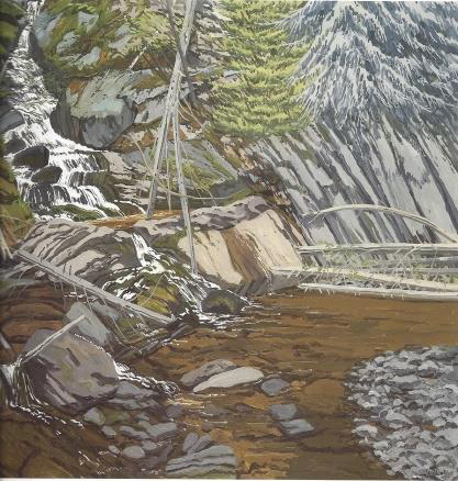 Neil Welliver Paintings for Sale