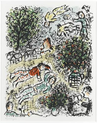 Marc Chagall Lithographs for Sale