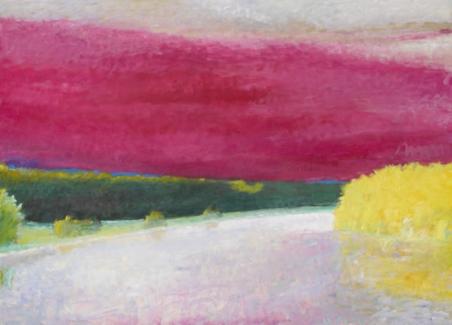 The Radiant Colors Of Wolf Kahn S Landscapes Surovek Gallery