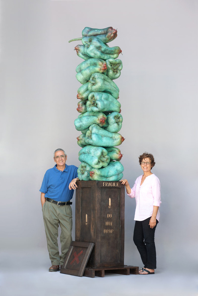 Luis Montoya and Leslie Ortiz Sculpture
