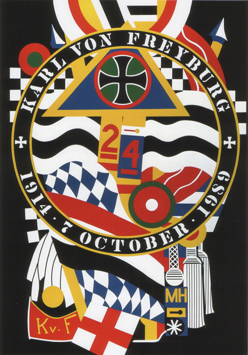Works by Robert Indiana at Surovek Gallery
