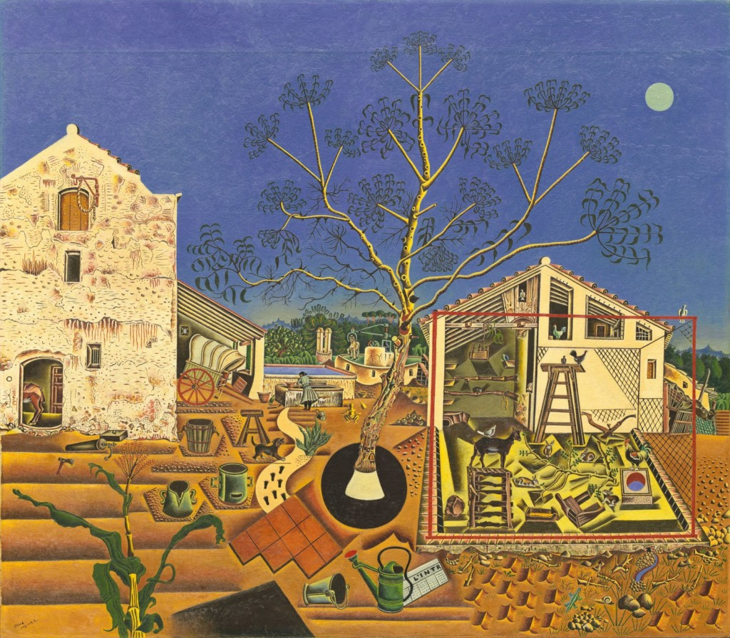 Joan Miró The Farm, 1921-2